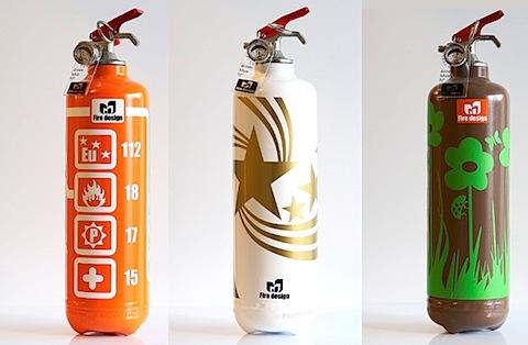 Дизайнерские огнетушители