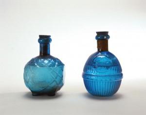 Стеклянные огнетушащие гранаты 19 века