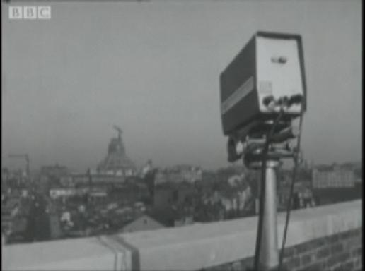 Телекамеры наблюдения в центре Ливерпуля, 1964 год