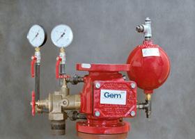 Проект водяного пожаротушения бизнес-центра