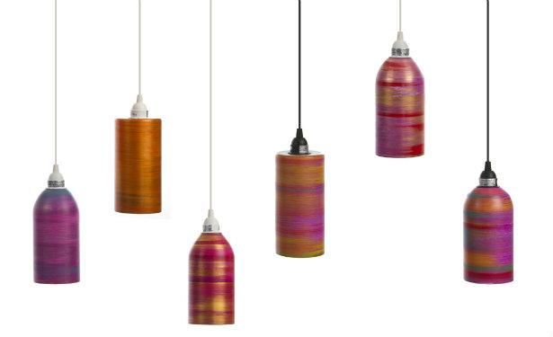 Люстры на одну лампу. Дизайнер  Valenino Llegada (США)