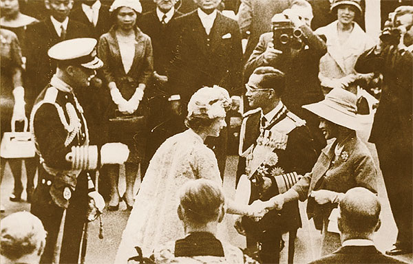 Визит тайской королевской семьи в Великобританию, 1960 год