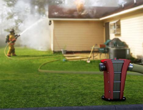 Концепт пожарного гидранта от Джон Сервина