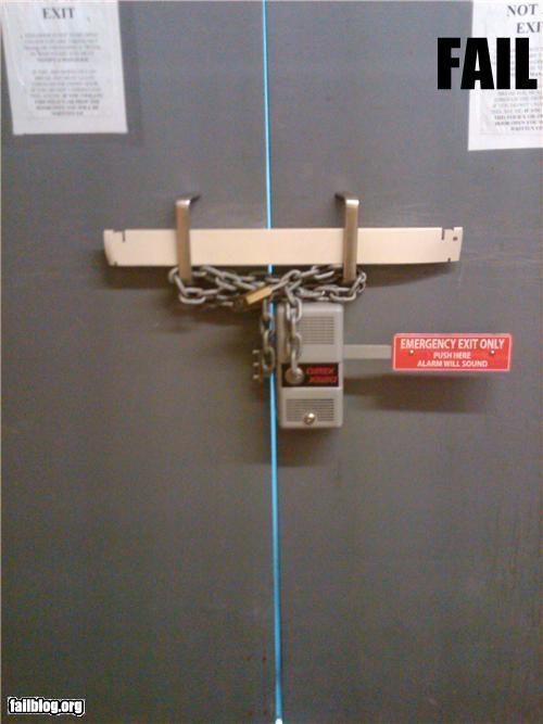 Аварийный эвакуационный выход
