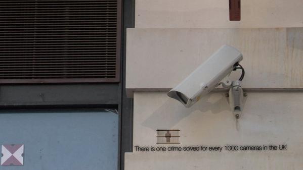 На каждые 10 000 камер в Британии приходится одно раскрытое преступление