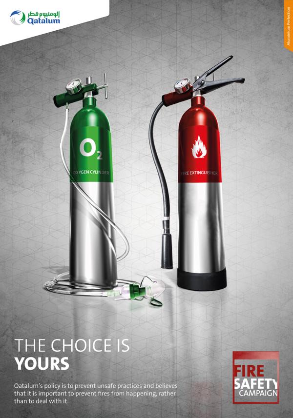 Выбор за тобой - противопожарная социальная реклама из Катара