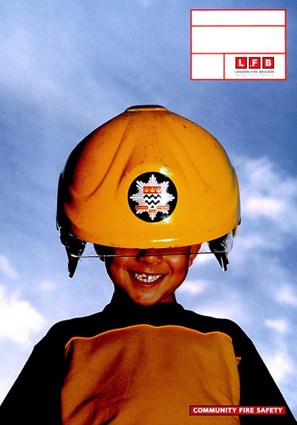 Социальная реклама пожарной бригады Лондона