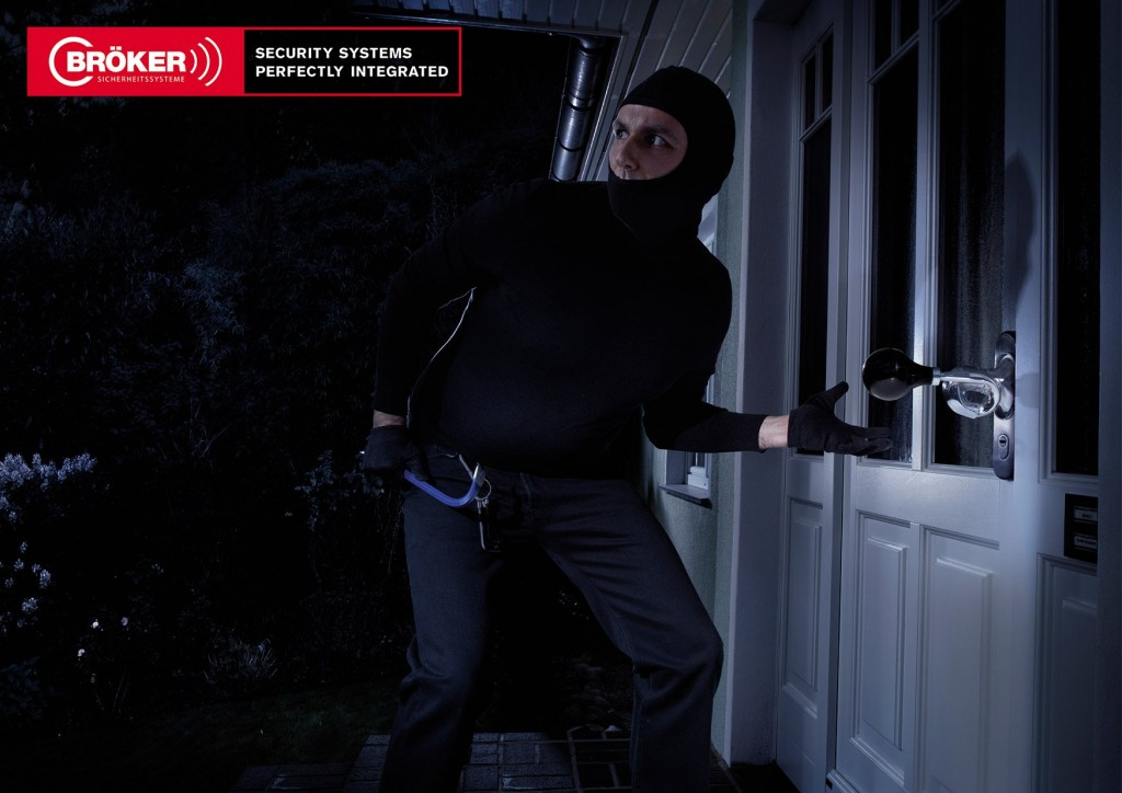 Печатная реклама охранных систем BROKER