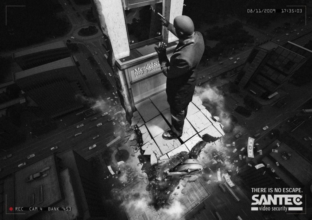 Реклама телекамер CCTV Santec
