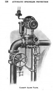 Сигнальный клапан Гарретта
