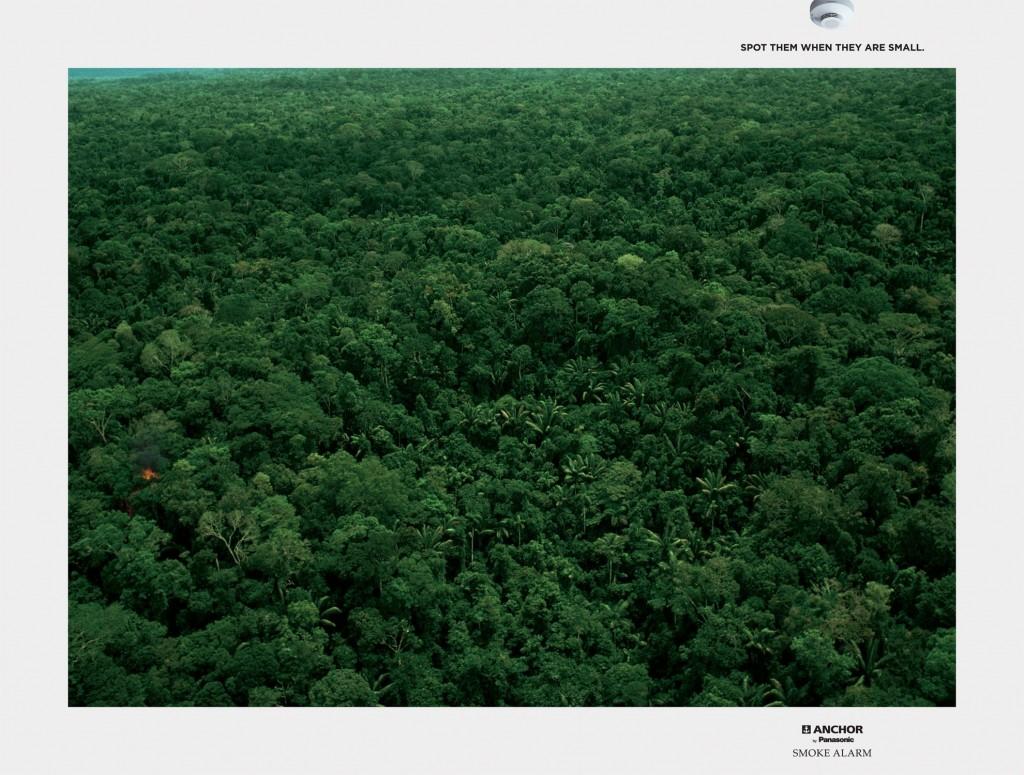 Реклама пожарной сигнализации Ancor от Panasonic
