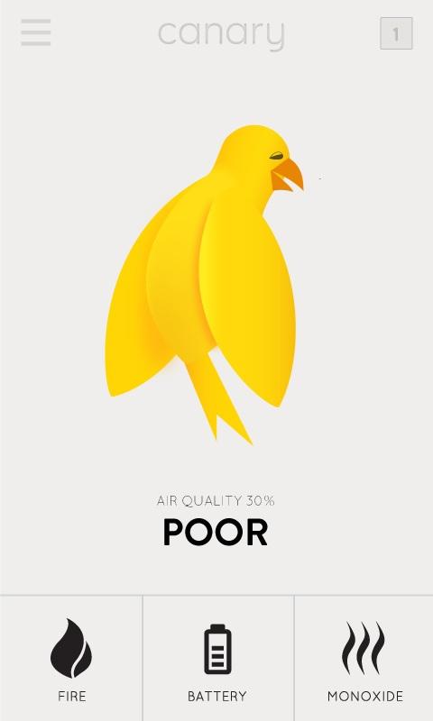 Приложение для смартфона оценивает качество воздуха
