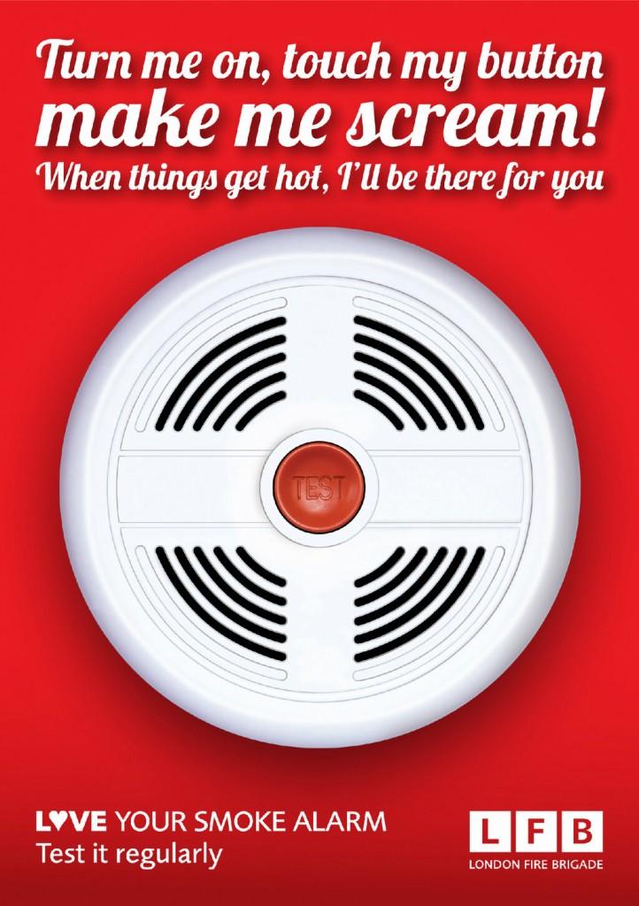 Провокационная агитация от пожарной бригады Лондона