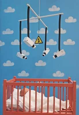 Камеры в детской кроватке