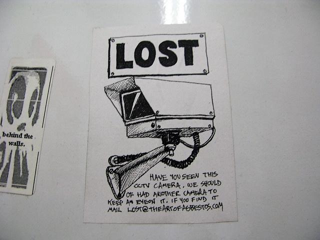 Потеряна камера. Не видели ли вы телекамеру? У нас должна была быть вторая, чтобы смотреть за первой. Если найдете - пишите на e-mail