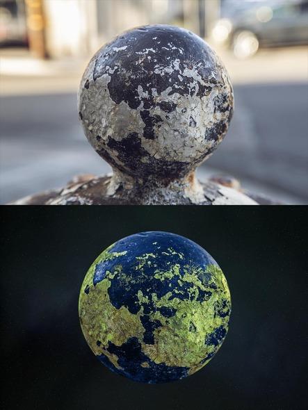 Ржавые гидранты превращаются в планеты