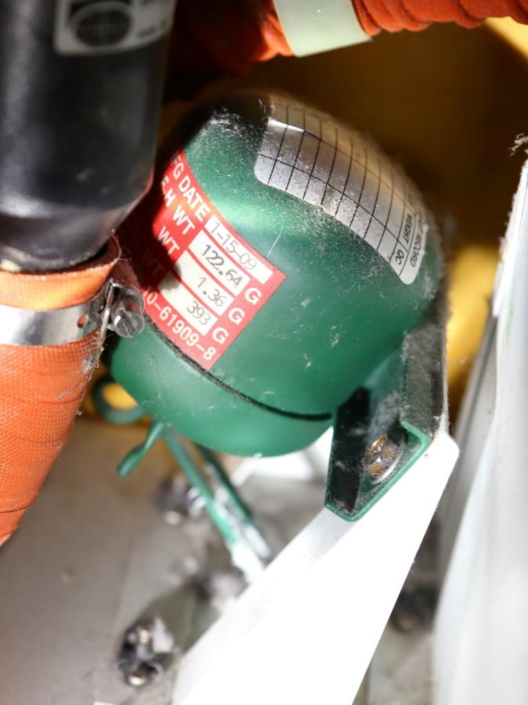 Газовый модуль пожаротушения