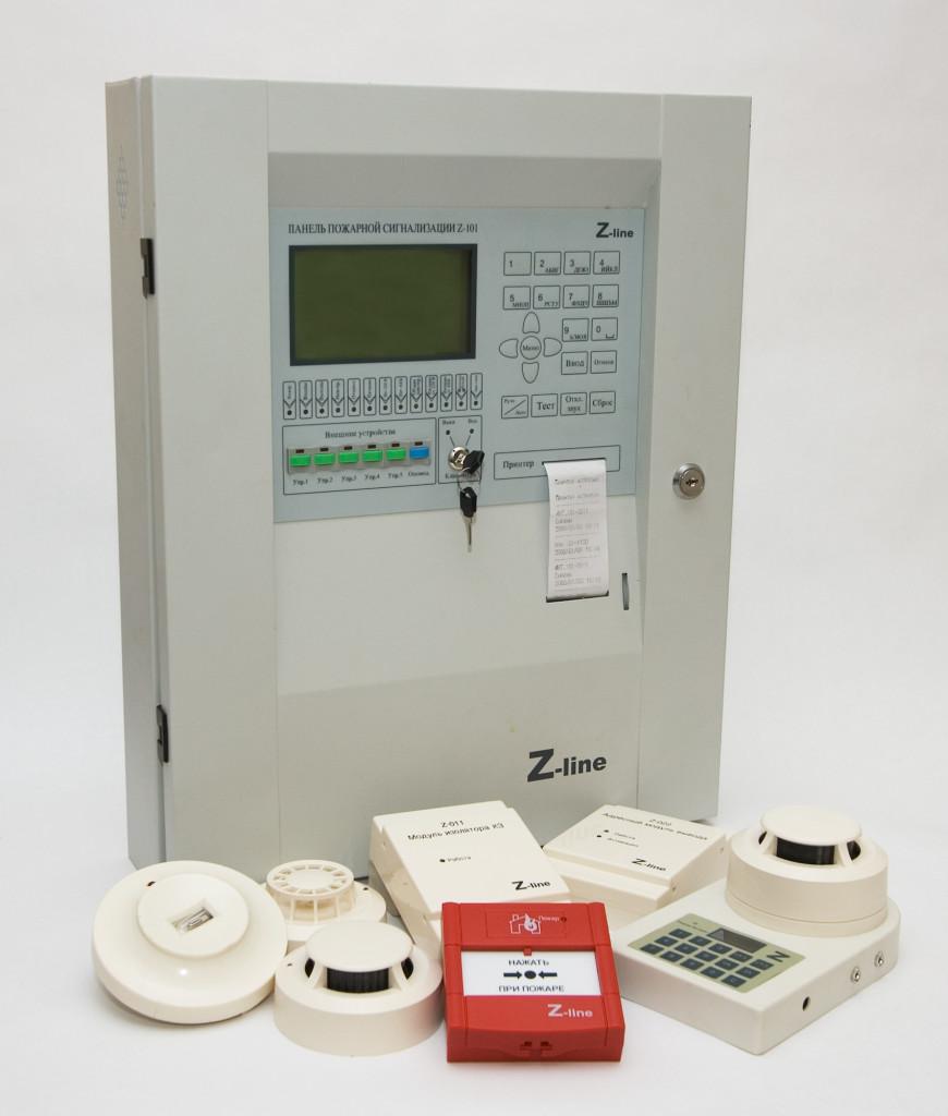Адресно-аналоговая система пожарной сигнализации Z-Line