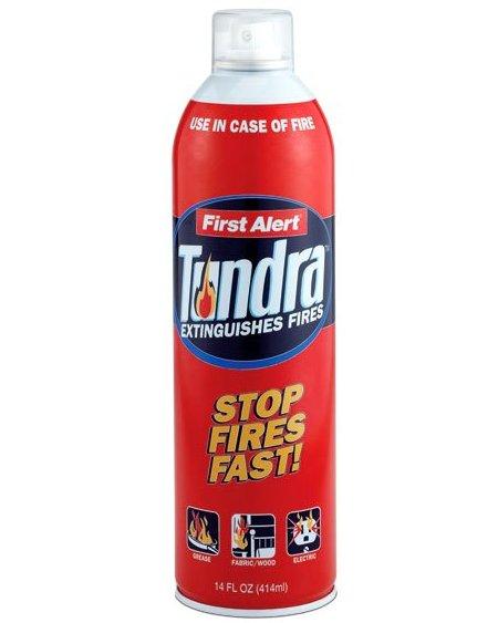 Компактный огнетушитель TUNDRA