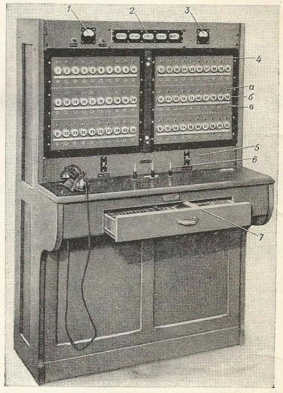 Рис. 2. Общий вид станции пожарной сигнализации на 60 лучей