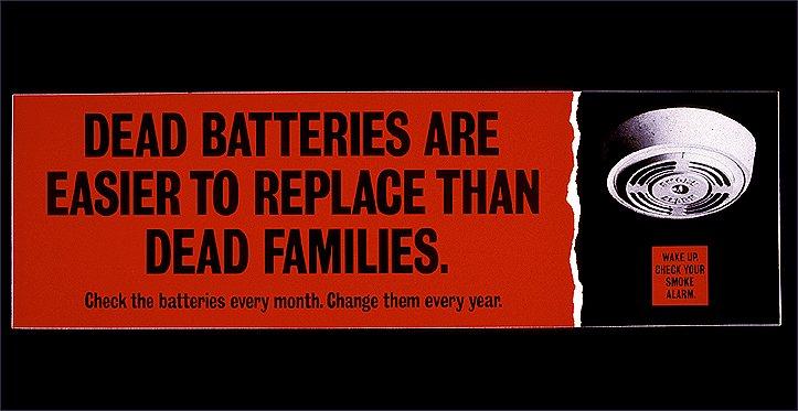 Социальная реклама против пожаров из Великобритании